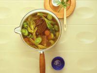 Rindereintopf mit Gemüse