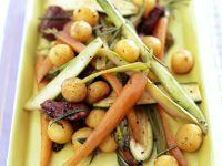 Rindergeschnetzeltes mit Gemüse