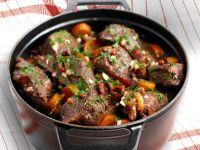 Rindfleisch-Karotten-Eintopf