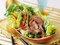 Rindfleischsalat auf thailändische Art