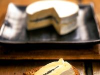 Röstbrot mit Trüffel und Käse