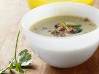 Rosenkohl-Speck-Suppe