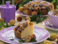 Rührkuchen mit Mirabellen