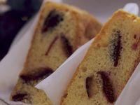 Rührkuchen mit Pflaumen