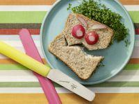 Saftiges Sandwich