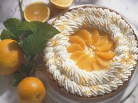 Sahne-Orangentorte