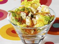 Salat mit Blumenkohl