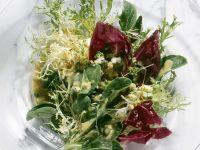 Salat mit Eiervinaigrette
