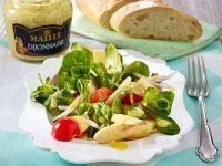 Salat mit Spargel und Dijonnaise-Dressing