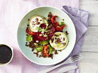 Salat mit Ziegenkäse-Rezepte