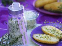 Salz mit Thymian und Zitrone