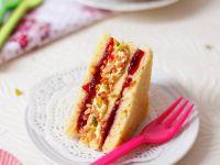 Sandwichkuchen mit Buttercreme