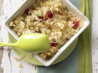 Sauerkraut-Apfel-Gratin