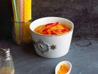 Sauerkrautsuppe mit Paprika