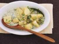 Saures Kartoffelgemüse