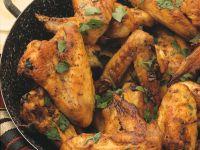Scharfe Chicken Wings