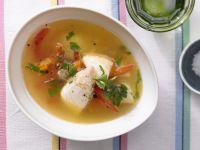 Schnelle Fischsuppe
