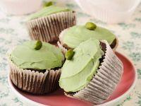 Schoko-Pistazien-Cupcakes