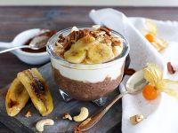 Schokoladen-Chia-Pudding