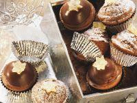 Schokoladen-Ingwer-Muffins