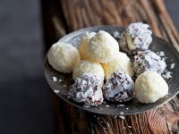 Schokoladen-Kokos-Pralinen