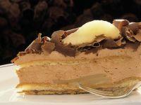 Schokoladencreme-Birnentorte