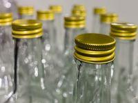 Schraubverschluss an Flaschen