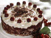 Schwarzwälder Kirschtorte mit Rapselschokolade