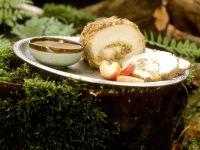 Schweinebraten mit Apfel-Selleriefüllung