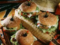Seehecht-Burger