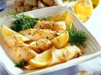 Seezunge mit Dill-Honigsauce