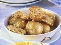 Sesam-Kartoffeln