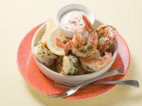 Shrimps mit Aioli