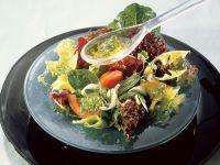 Sommersalat mit Auternpilzen