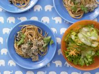 Spaghetti mit cremiger Thunfischsauce