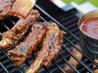 Spareribs mit Barbecuesoße