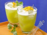 Spargel-Melonen-Cocktail