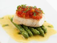 Kochbuch für Spargelrezepte mit Fisch