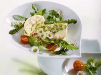 Spargelauflauf mit Salat