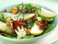 Spinat-Birnensalat