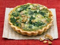 Spinat-Quiche mit Roquefort