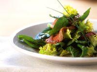 Spinatsalat mit Lamm
