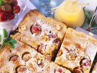 Stachelbeer-Blechkuchen