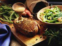 Steak mit Pfeffersoße