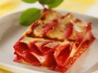 Süße Zwetschgen-Lasagne