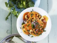 Süßkartoffel-Cashew-Salat