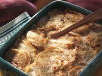 Süßkartoffel-Krabbenauflauf
