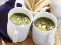 Suppe von Bärlauch