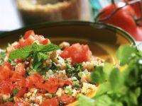 Tabouleh mit Tomaten und Minze