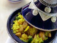 Tajine mit Lamm und Couscous